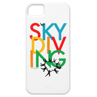 Skydiving iPhone 5 Carcasas