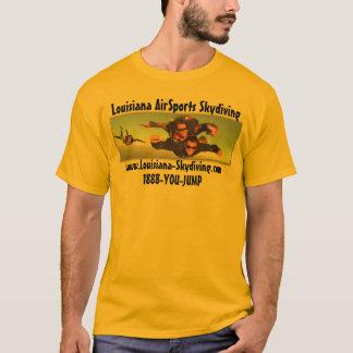 Skydiving-Luisiana-Deporte-Imagen-Logotipo Playera