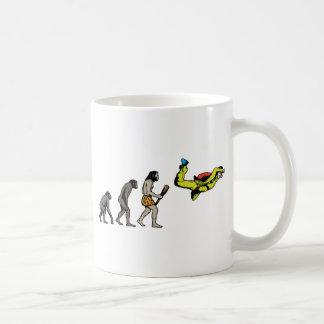 Skydiving Classic White Coffee Mug