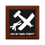 Skydiving My Own Stunts Gift Box