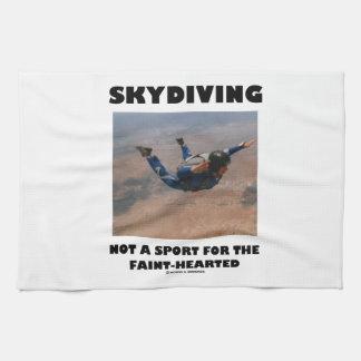 Skydiving no un deporte para el Débil-Hearted Toalla De Cocina