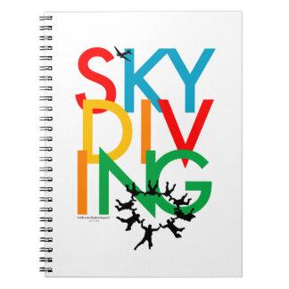 Skydiving Notebook