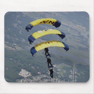 Skydiving Parachutes Mouse Pads