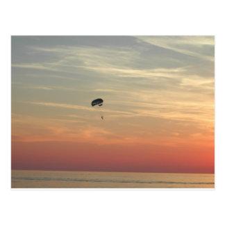Skydiving Postcard