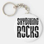 Skydiving Rocks Key Chains