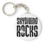 Skydiving Rocks Keychain
