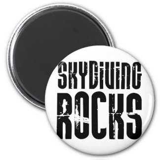 Skydiving Rocks Magnet