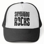 Skydiving Rocks Trucker Hat