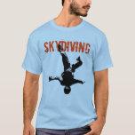 Skydiving T-shirt at Zazzle
