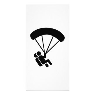 Skydiving tandem photo cards