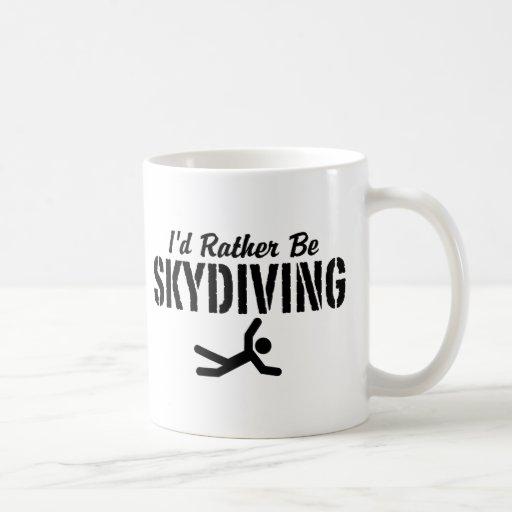 Skydiving Tazas De Café