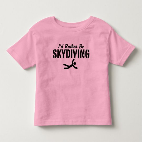 Skydiving Toddler T-shirt