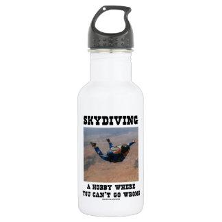 Skydiving una afición donde usted no puede salir