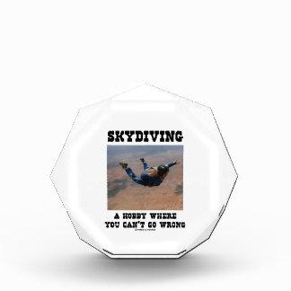 Skydiving una afición donde usted no puede salir m