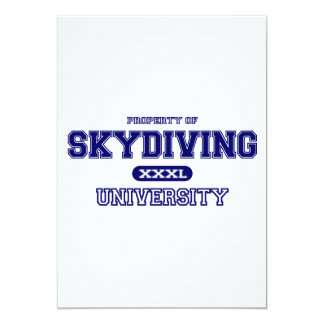Skydiving University Card