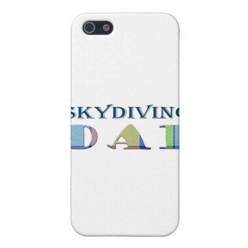 SkydivingDad iPhone 5 Carcasas