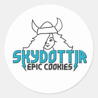Skydottir Epic Cookies girl stickers