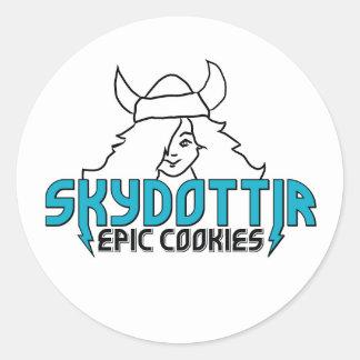 Skydottir Epic Cookies monster girl sticker