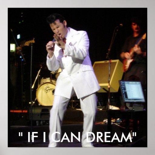 """Skye Lounge 029, """" IF I CAN DREAM"""" Print"""