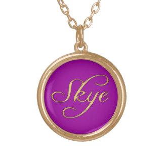 SKYE Name-Branded Gift Pendant Necklace