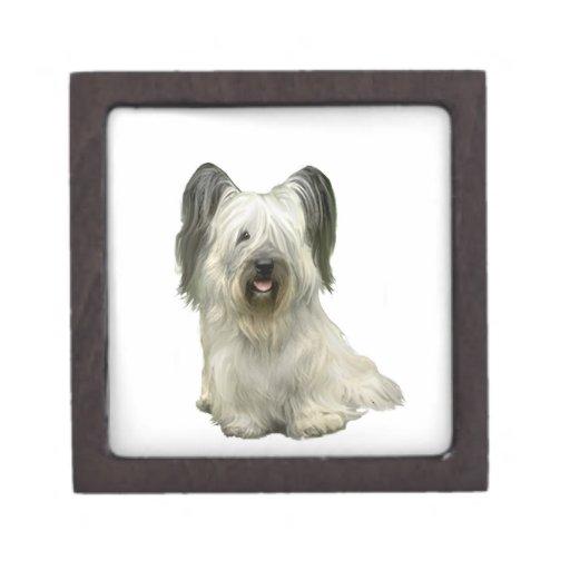 Skye Terrier (a) - luz Cajas De Regalo De Calidad