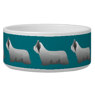 Skye Terrier Basic Breed - Ready to Customize Bowl