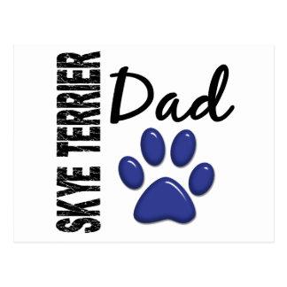 Skye Terrier Dad 2 Postcard
