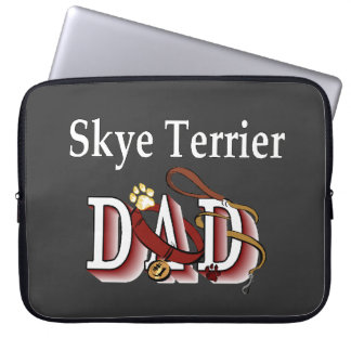 Skye Terrier Dad Laptop Sleeve