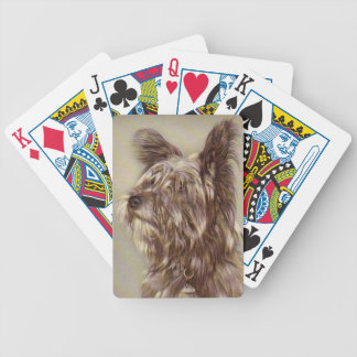 Skye Terrier Dog Playing Cards