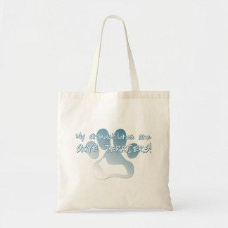 Skye Terrier Grandchildren Tote Bag