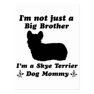 Skye terrier  Mommy designs Postcard