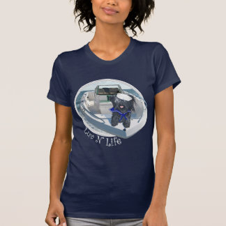 Skye Terrier out on the Boat T-Shirt