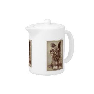Skye Terrier Teapot at Zazzle