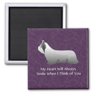 Skye Terrier Thinking of You Design Magnet
