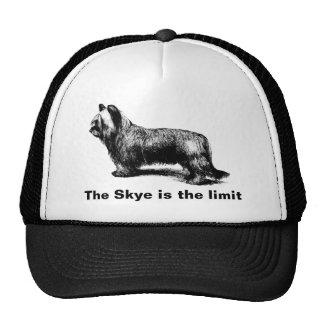 Skye Terrier vintage art Trucker Hat