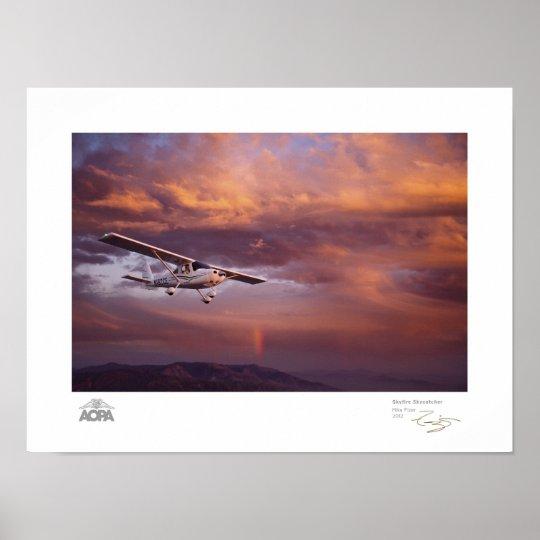 Skyfire Skycatcher Gallery Poster