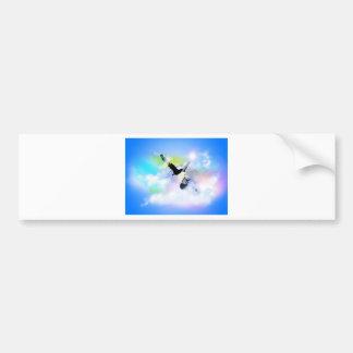 SkyFreeze.jpg Bumper Stickers