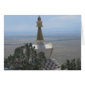 Skygazing from the Stupa Card