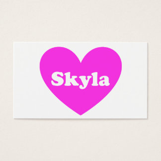 Skyla Business Card