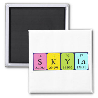 Skyla periodic table name magnet