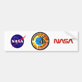 Skylab 1 Mission Patch Car Bumper Sticker