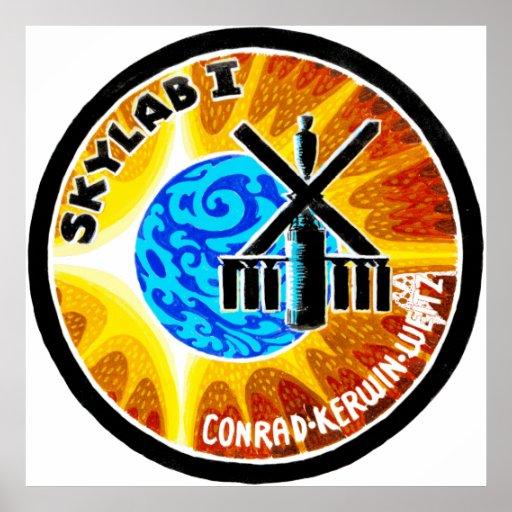 Skylab 1 poster
