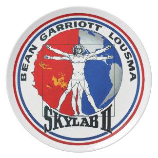 Skylab 2 Mission Patch Dinner Plate