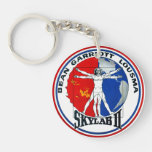 Skylab 2 Mission Patch Double-Sided Round Acrylic Keychain