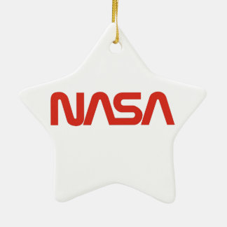 Skylab 2 Mission Patch Double-Sided Star Ceramic Christmas Ornament