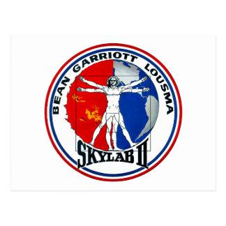 Skylab 2 Mission Patch Postcard