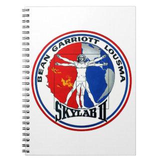Skylab 2 Mission Patch Spiral Notebooks