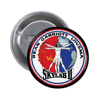Skylab 2 Vitruvian Man Mission Patch Pins
