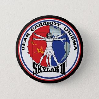 Skylab 2 Vitruvian Man Mission Patch Logo Button