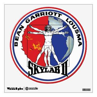 Skylab 2 Vitruvian Man Mission Patch Logo Wall Decal